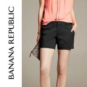NWT Banana Republic 183819 black dress shorts 14